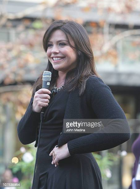 Television personality and author Rachael Ray signs copies of her book 'Look Cook' at Sur La Table on Santana Row on December 11 2010 in San Jose...