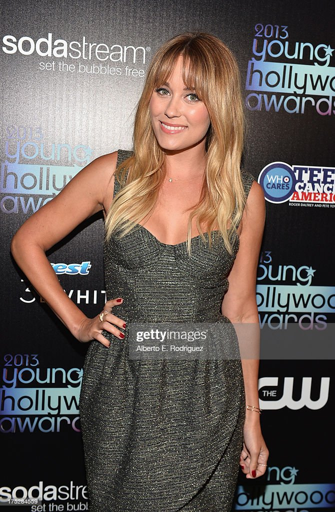 Television personality and fashion designer <a gi-track='captionPersonalityLinkClicked' href=/galleries/search?phrase=Lauren+Conrad&family=editorial&specificpeople=537620 ng-click='$event.stopPropagation()'>Lauren Conrad</a> attends the CW Network's 2013 Young Hollywood Awards presented by Crest 3D White and SodaStream held at The Broad Stage on August 1, 2013 in Santa Monica, California.