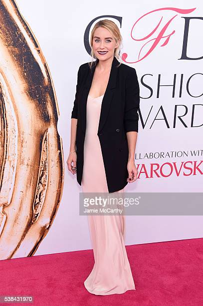 Television personality and fashion designer Lauren Conrad attends the 2016 CFDA Fashion Awards at the Hammerstein Ballroom on June 6 2016 in New York...