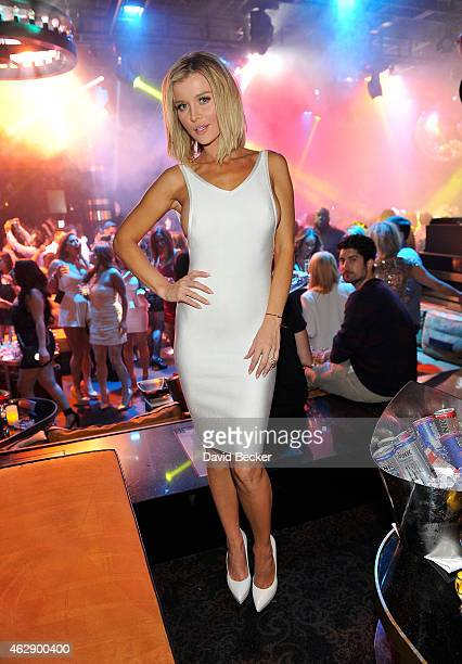 Television personality and model Joanna Krupa appears at 1 OAK Nightclub at The Mirage Hotel Casino on February 6 2015 in Las Vegas Nevada