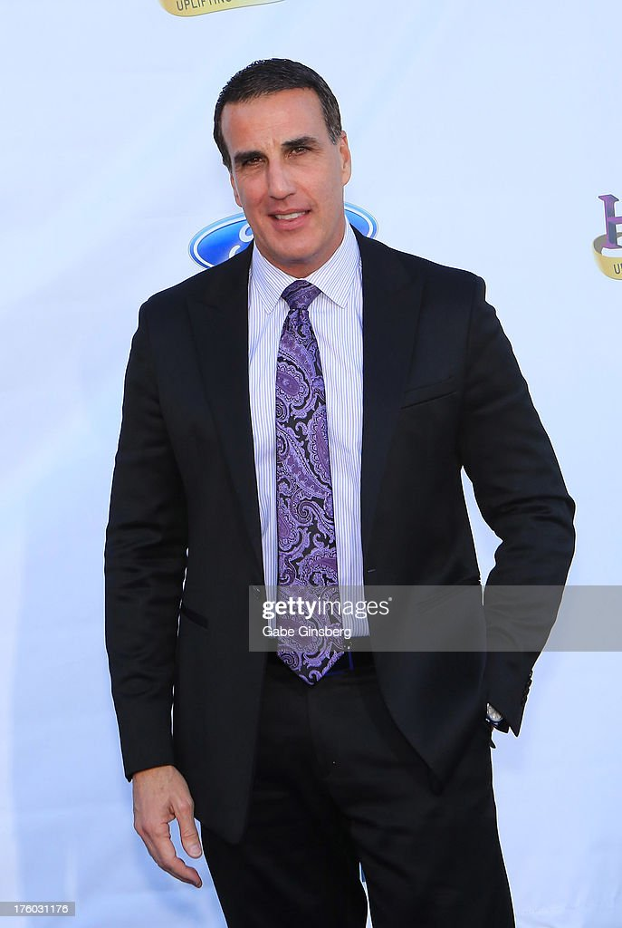 Television personality and retired judge Alex Ferrer arrives at the 11th annual Ford Neighborhood Awards at the MGM Grand Garden Arena on August 10, 2013 in Las Vegas, Nevada.