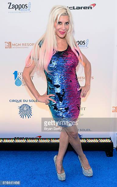 Television personality Angelique 'Frenchy' Morgan attends the fourth annual 'One Night for ONE DROP' imagined by Cirque du Soleil a show that raises...