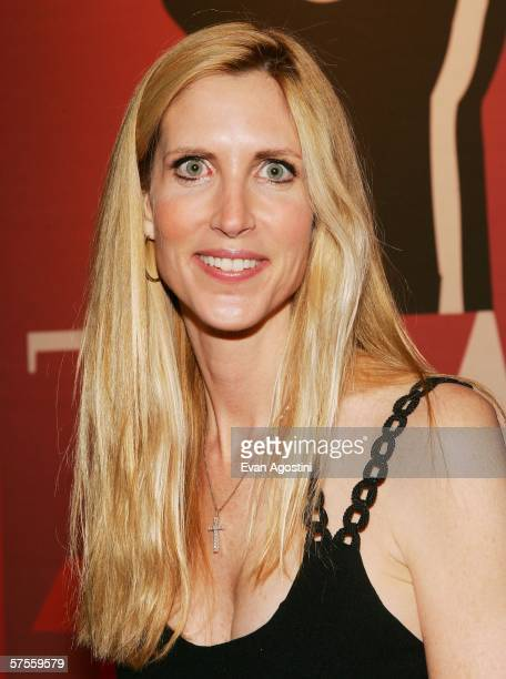 Television personality Ann Coulter attends Time Magazine's 100 Most Influential People celebration May 8 2006 in New York City