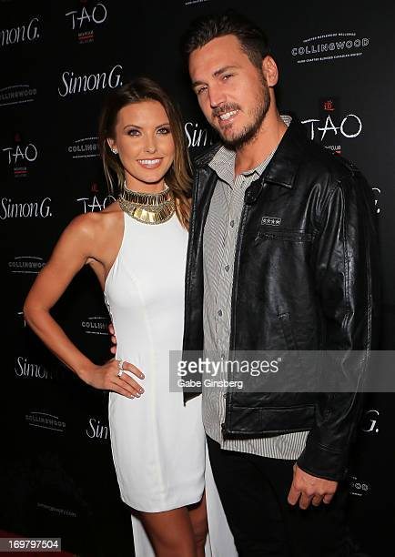 Television personality Audrina Patridge and BMX rider Corey Bohan arrive at the annual Simon G Soiree at the Tao Nightclub at The Venetian Las Vegas...