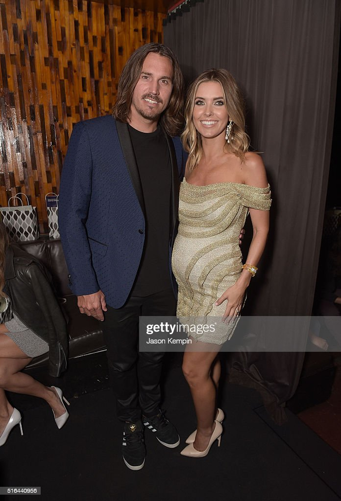 Television personality Audrina Patridge and Corey Bohan attend the LAPALME Magazine Spring Affair at The Room on March 18, 2016 in Los Angeles, California.