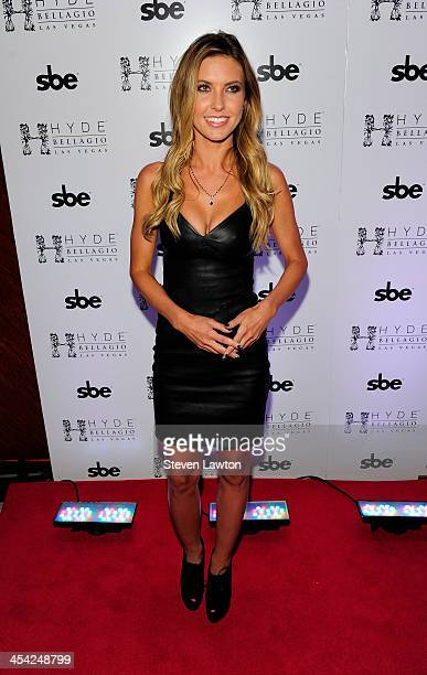Television personality Audrina Patridge arrives at Hyde Bellagio at the Bellagio on December 7 2013 in Las Vegas Nevada