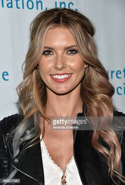 Television personality Audrina Patridge arrives at the 2nd Annual Hollywood Heals Spotlight On Tourette Syndrome event at the House of Blues Sunset...