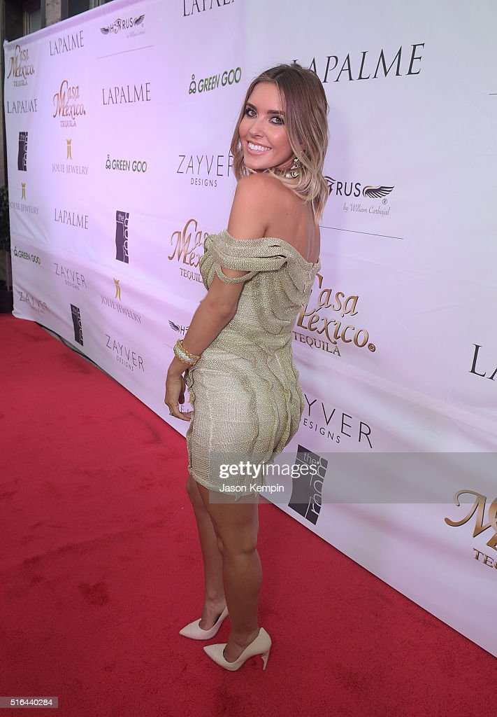 Television personality Audrina Patridge attends the LAPALME Magazine Spring Affair at The Room on March 18, 2016 in Los Angeles, California.