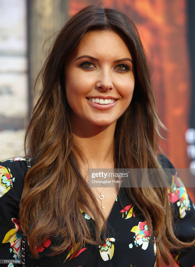 Television Personality <a gi-track='captionPersonalityLinkClicked' href=/galleries/search?phrase=Audrina+Patridge&family=editorial&specificpeople=2584350 ng-click='$event.stopPropagation()'>Audrina Patridge</a> attends The World Premiere of Disney/Jerry Bruckheimer Films' 'The Lone Ranger' at Disney California Adventure Park on June 22, 2013 in Anaheim, California.