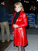 Television personality Barbara Walters visits 'Late Show With David Letterman' at the Ed Sullivan Theater on December 8 2009 in New York City
