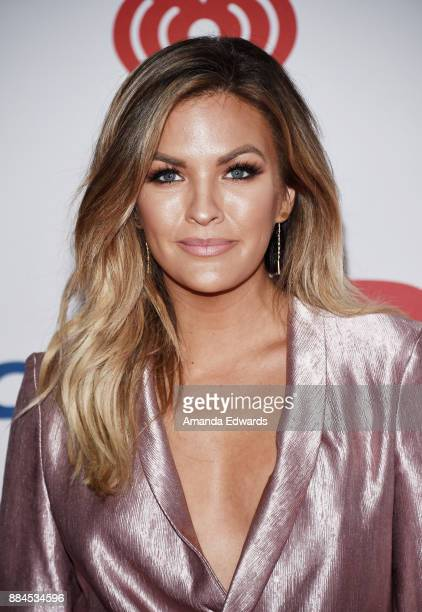 Television personality Becca Tilley arrives at 1027 KIIS FM's Jingle Ball 2017 at The Forum on December 1 2017 in Inglewood California