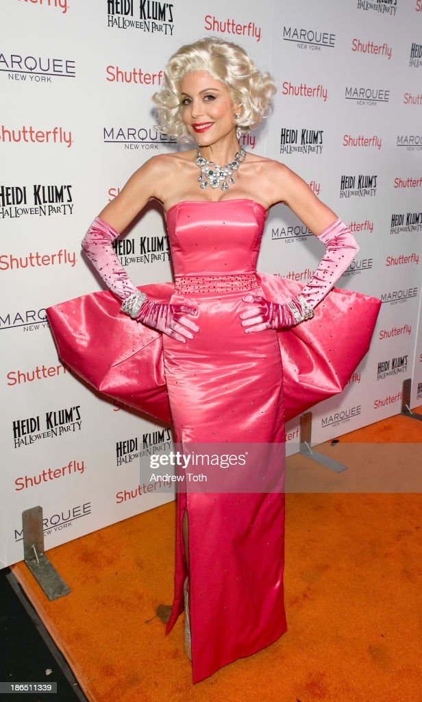 Television personality <a gi-track='captionPersonalityLinkClicked' href=/galleries/search?phrase=Bethenny+Frankel&family=editorial&specificpeople=873539 ng-click='$event.stopPropagation()'>Bethenny Frankel</a> attends the 2013 Heidi Klum Halloween Party at Marquee on October 31, 2013 in New York City.