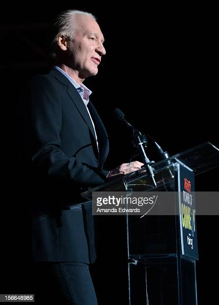 Television personality Bill Maher speaks onstage at Variety's 3rd annual Power of Comedy event presented by Bing benefiting the Noreen Fraser...