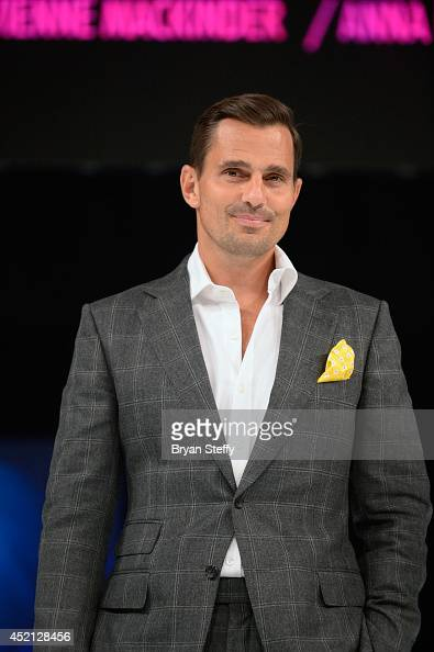 Television personality Bill Rancic speaks to the attendees as he hosts The North American Hairstyling Awards 25th anniversary celebration at the...