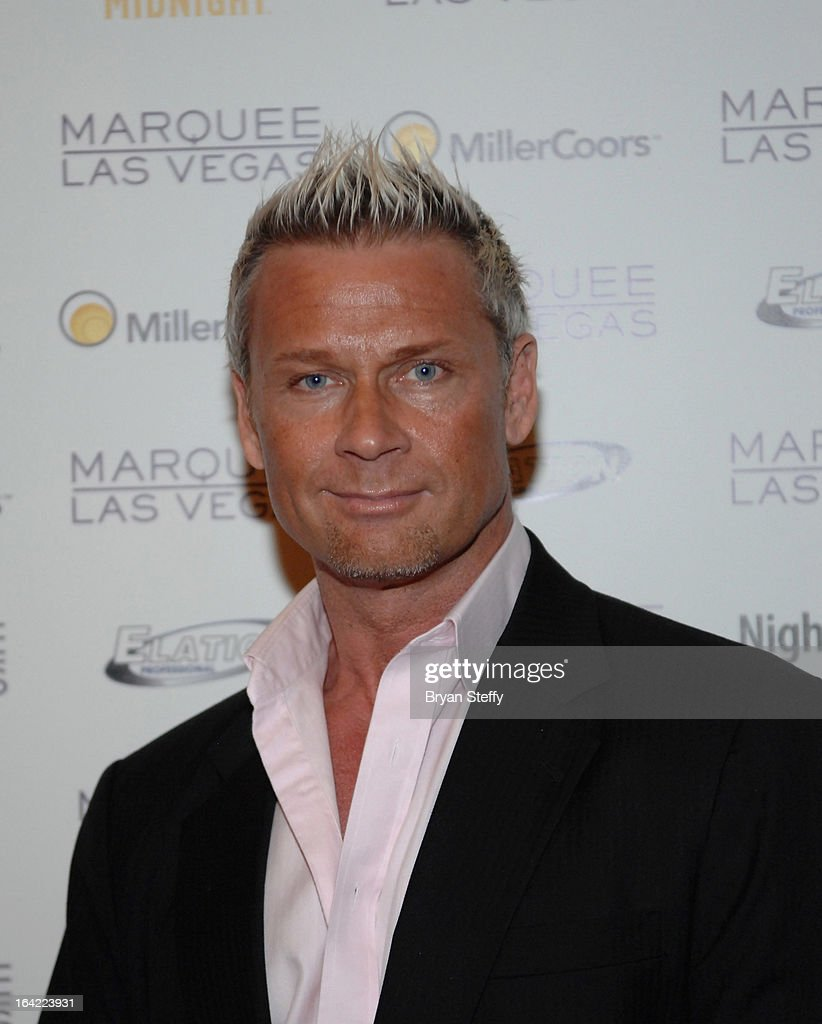 Television personality Brace arrives at a Platinum party at the Marquee Nightclub at The Cosmopolitan of Las Vegas during the 28th annual Nightclub & Bar Convention and Trade Show on March 20, 2013 in Las Vegas, Nevada.