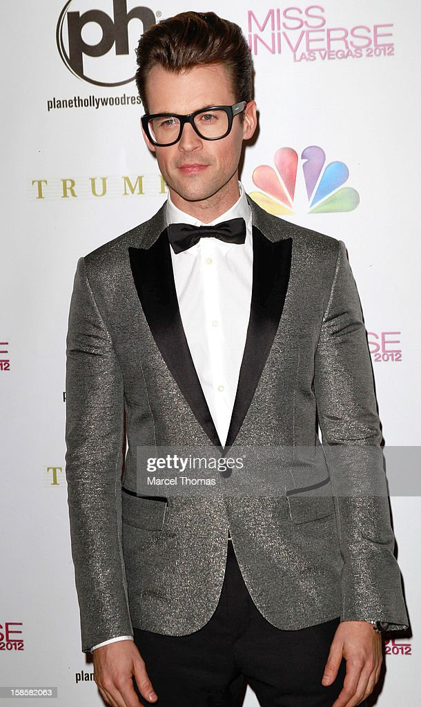 Television personality Brad Goreski arrives at the 2012 Miss Universe Pageant at Planet Hollywood Resort & Casino on December 19, 2012 in Las Vegas, Nevada.