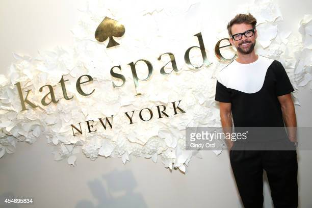 Television personality Brad Goreski at the Kate Spade New York Presentation duringMercedesBenz Fashion Week Spring 2015 at Center 548 on September 5...