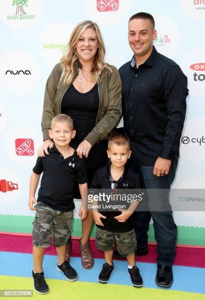Television personality Briana Culberson Ryan Culberson Troy Culberson and Owen Culberson attend the 6th Annual Celebrity Red CARpet Safety Awareness...