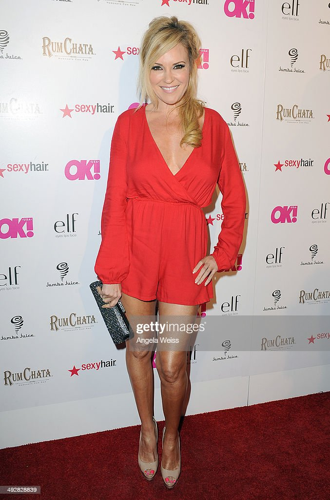 Television personality Bridget Marquardt attends OK Magazine's So Sexy L.A. Event at LURE on May 21, 2014 in Los Angeles, California.