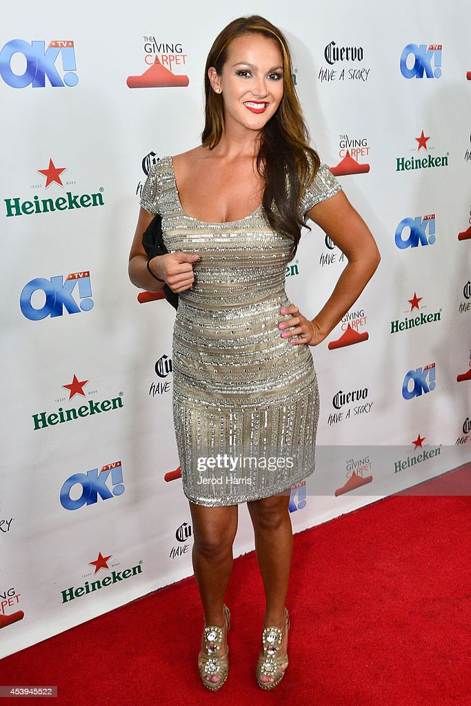 Television personality Brittany Martinez attends OK! TV Awards Party at Sofitel Hotel on August 21, 2014 in Los Angeles, California.