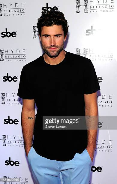 Television personality Brody Jenner arrives at Hyde Bellagio at the Bellagio on November 23 2013 in Las Vegas Nevada