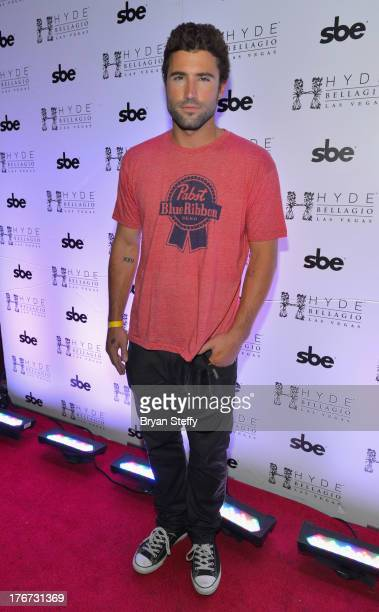 Television personality Brody Jenner arrives to celebrate his 30th birthday at Hyde Bellagio at the Bellagio on August 17 2013 in Las Vegas Nevada