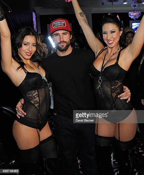 Television personality Brody Jenner attends a New Year's weekend celebration at Ghostbar at the Palms Casino Resort on December 29 2013 in Las Vegas...