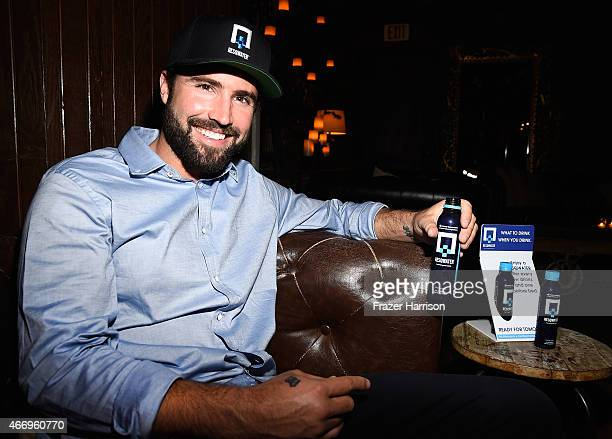 Television personality Brody Jenner attends the Sex With Brody Wrap Party Sponsored By RESQWATER The AntiHangover Drink at Aventine Hollywood on...