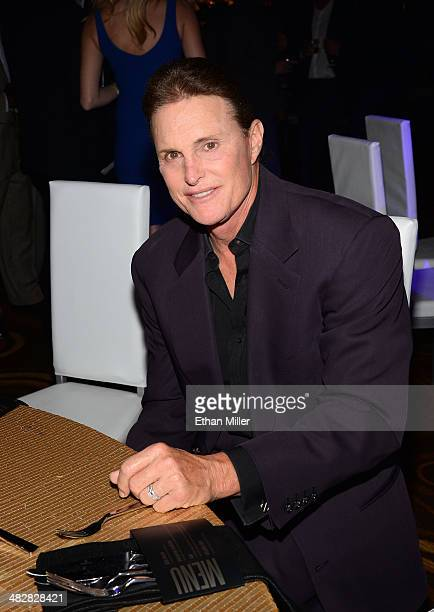 Television personality Bruce Jenner attends the 13th annual Michael Jordan Celebrity Invitational gala at the ARIA Resort Casino at CityCenter on...