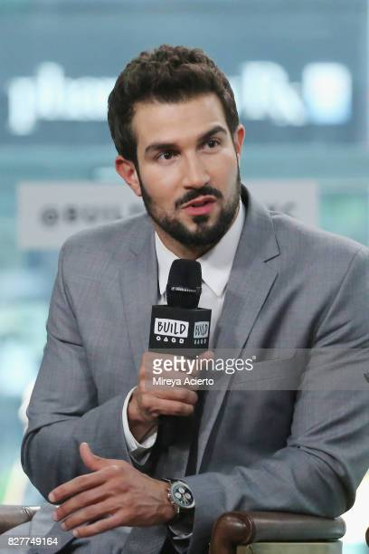 Television personality Bryan Abasolo visits Build to discuss her show 'The Bachelorette' at Build Studio on August 8 2017 in New York City
