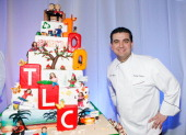 Television personality Buddy Valastro of TLC's 'Cake Boss' attends Discovery Upfront at Jazz at Lincoln Center April 2 2009 in New York City
