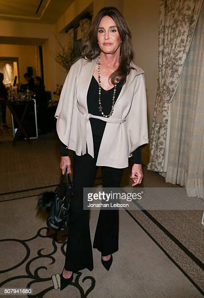 Television personality Caitlyn Jenner attends at the 2016 MAKERS Conference Day 1 at the Terrenea Resort on February 1 2016 in Rancho Palos Verdes...