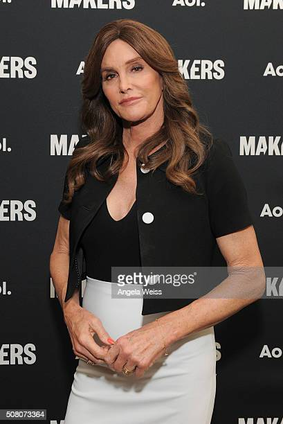 Television personality Caitlyn Jenner attends the 2016 MAKERS Conference Day 2 at the Terrenea Resort on February 2 2016 in Rancho Palos Verdes...