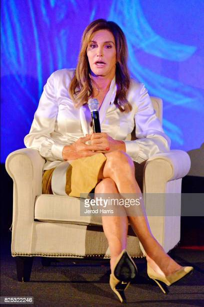 Television personality Caitlyn Jenner attends WORLDZ Cultural Marketing Summit at Hollywood and Highland on August 1 2017 in Los Angeles California