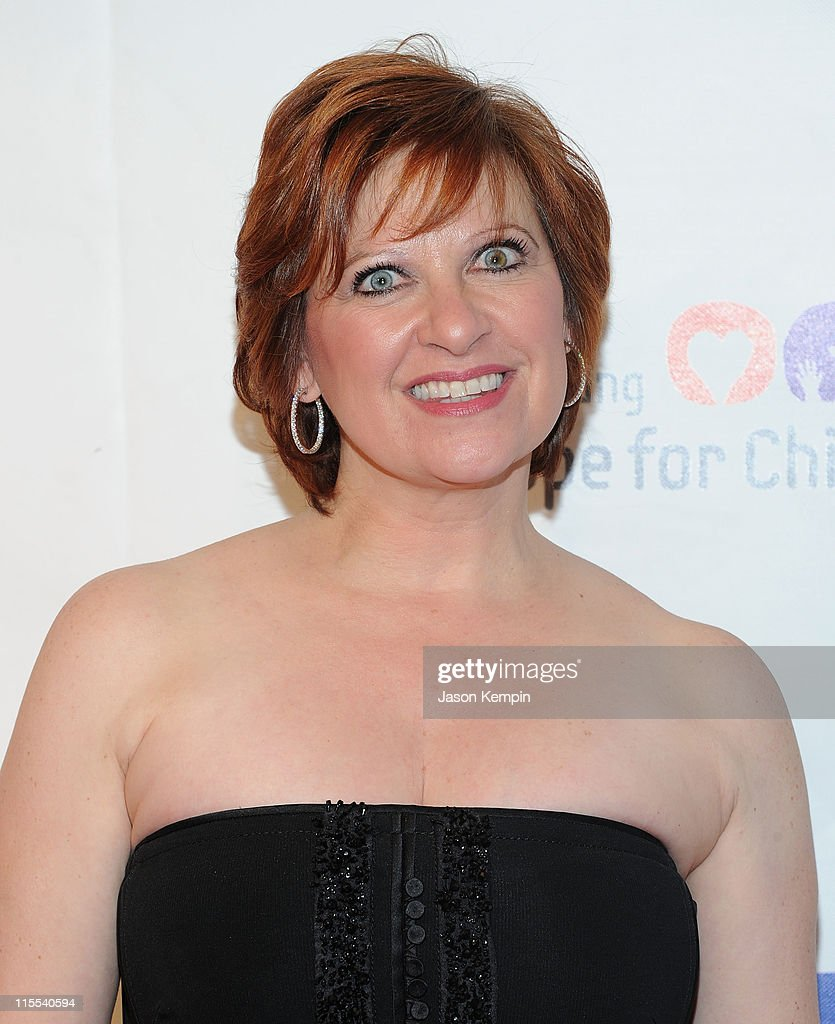 Television personality Caroline Manzo attends the Samsung Hope for Children gala at Cipriani Wall Street on June 7, 2011 in New York City.