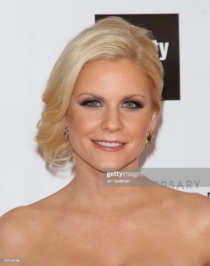 Television personality Carrie Keagan attends the 40th Anniversary Chaplin Award Gala at Avery Fisher Hall at Lincoln Center for the Performing Arts on April 22, 2013 in New York City.