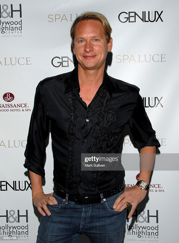 Television personality Carson Kressley attends the unveiling of Spa Luce at Hollywood & Highland on May 1, 2008 in Hollywood, California.