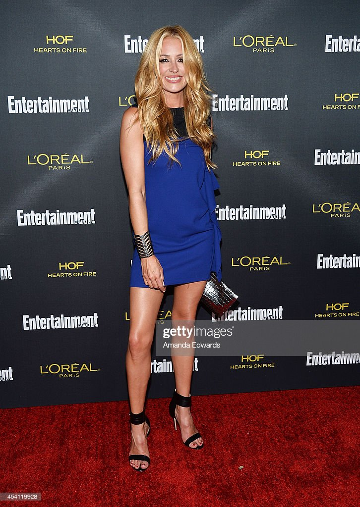 Television personality Cat Deeley arrives at the 2014 Entertainment Weekly Pre-Emmy Party at Fig & Olive Melrose Place on August 23, 2014 in West Hollywood, California.