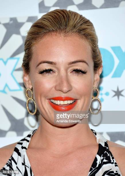 Television personality Cat Deeley arrives at the 2014 Television Critics Association Summer Press Tour FOX AllStar Party at Soho House on July 20...