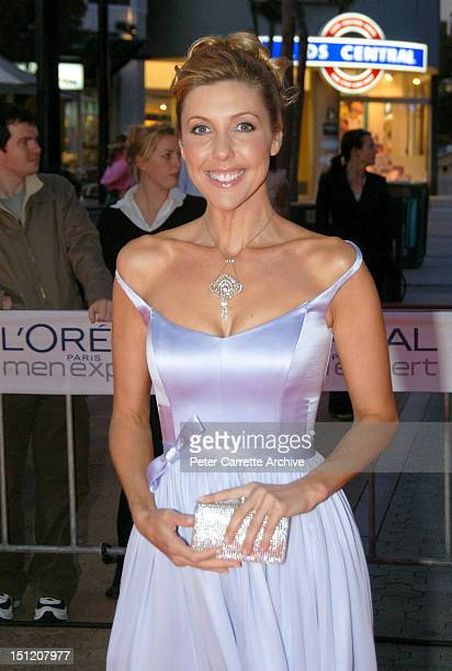 Television personality Catriona Rowntree arrives for the premiere of the film 'Cinderella Man' at The Entertainment Quarter on September 21 2005 in...