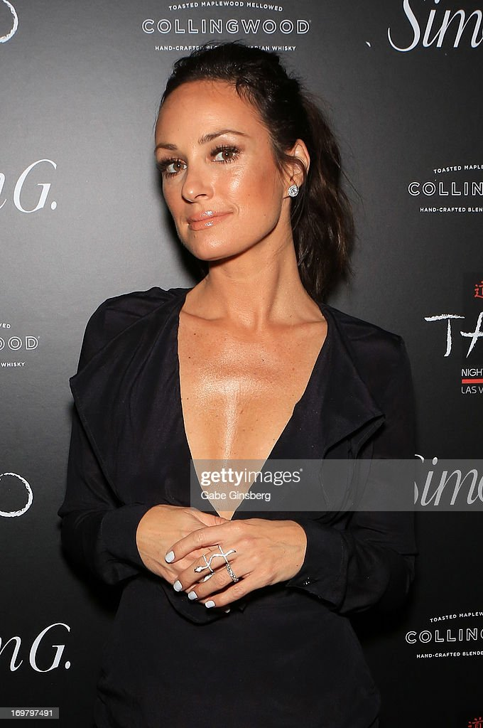 Television personality <a gi-track='captionPersonalityLinkClicked' href=/galleries/search?phrase=Catt+Sadler&family=editorial&specificpeople=754401 ng-click='$event.stopPropagation()'>Catt Sadler</a> arrives at the annual Simon G. Soiree at the Tao Nightclub at The Venetian Las Vegas on June 1, 2013 in Las Vegas, Nevada.