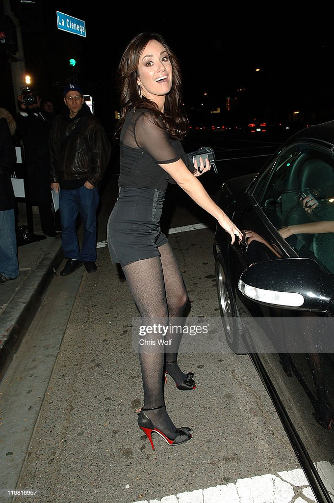 Television personality Catt Sadler sighting on February 13 2008 in West Hollywood California