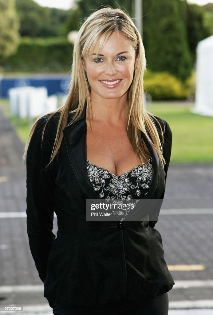 Television personality Charlotte Dawson at the Auckland Cup Charity Ball held as part of the Auckland Cup Week at the Ellerslie Convention Center...