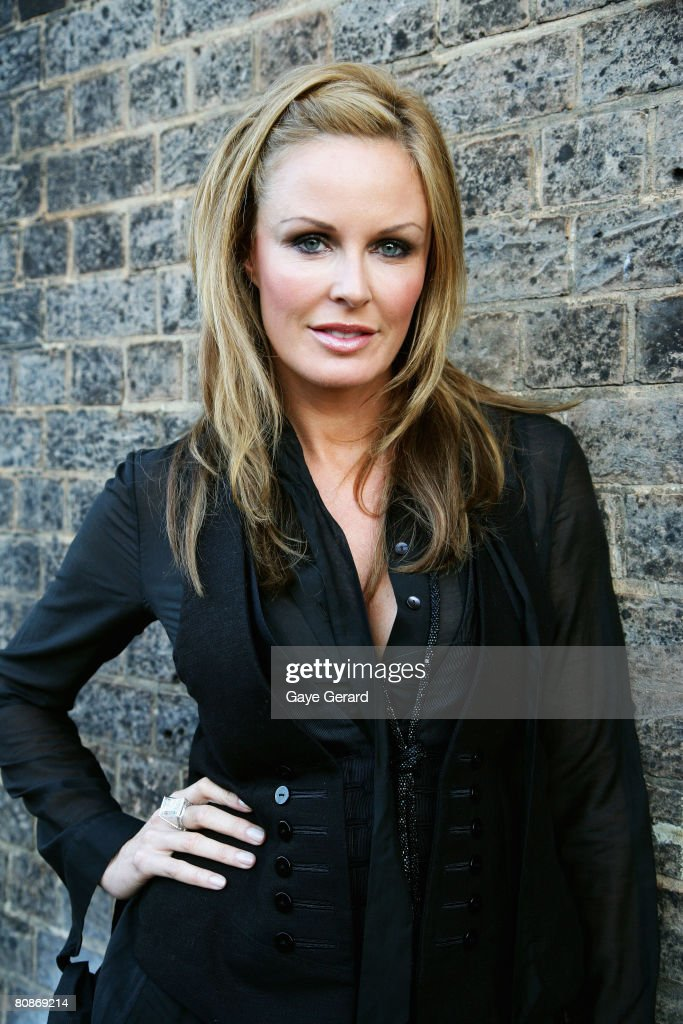 Television personality Charlotte Dawson leaves the departure lounge for the red carpet at the MTV Australia Awards 2008 at the Australian Technology...