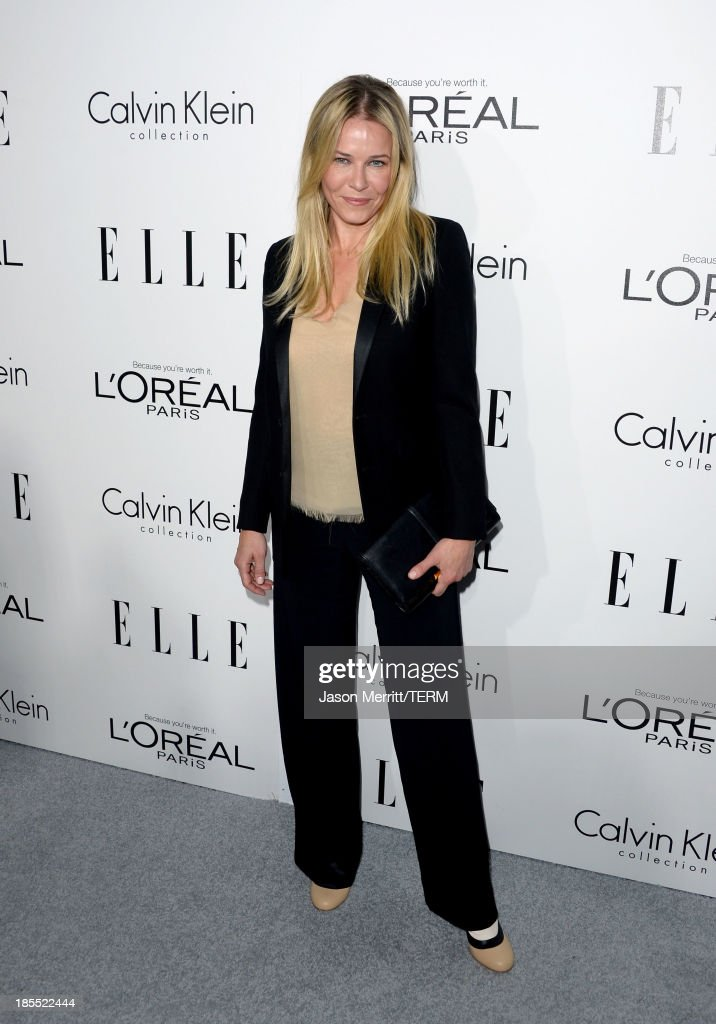 Television personality <a gi-track='captionPersonalityLinkClicked' href=/galleries/search?phrase=Chelsea+Handler&family=editorial&specificpeople=599162 ng-click='$event.stopPropagation()'>Chelsea Handler</a> attends ELLE's 20th Annual Women In Hollywood Celebration at Four Seasons Hotel Los Angeles at Beverly Hills on October 21, 2013 in Beverly Hills, California.