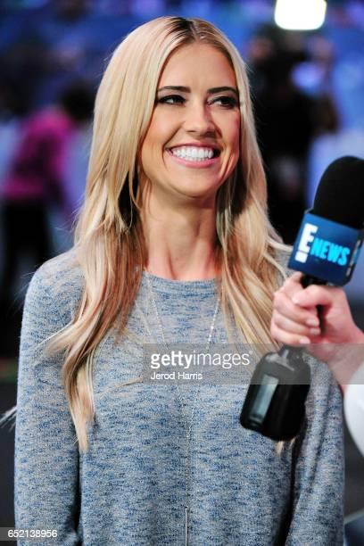 Television personality Christina El Moussa attends AllStar Chef Classic at LA Live Event Deck on March 11 2017 in Los Angeles California