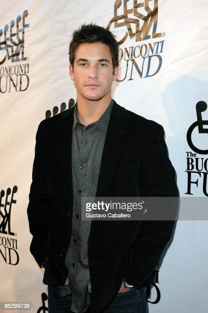 Television personality Clay Adler arrives at the Destination Fashion 2009 at the Bal Harbour Shops on March 7 2009 in Miami Florida