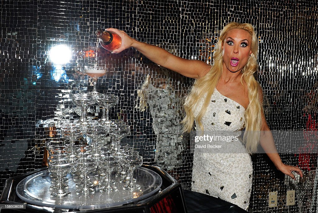 Television personality Coco Austin attends a reception after her opening night performance at 'Peepshow' at the Planet Hollywood Resort and Casino on December 17, 2012 in Las Vegas, Nevada.