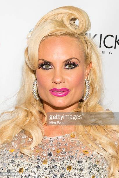 Television Personality Coco Austin attends Coco The Vanity Vixens at Highline Ballroom on May 12 2014 in New York City