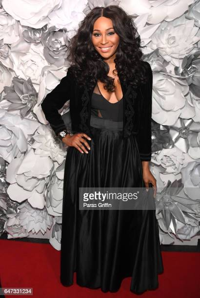 Television personality Cynthia Bailey attends Kontrol Magazine presents Women of Style Dinner at Suite Food Lounge on March 2 2017 in Atlanta Georgia